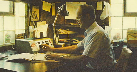 Joe Weber in office
